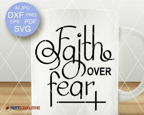 Faith over fear 21 Party season store