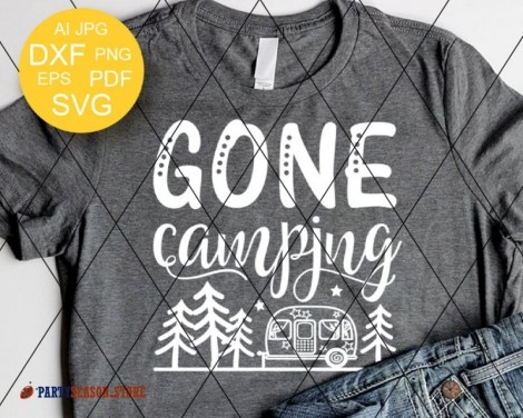 gone camping trailer Party season 1