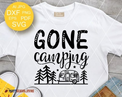 gone camping trailer Party season 2