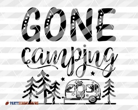gone camping trailer Party season 4
