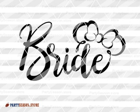 PartySeason bride groom svg Disney 1