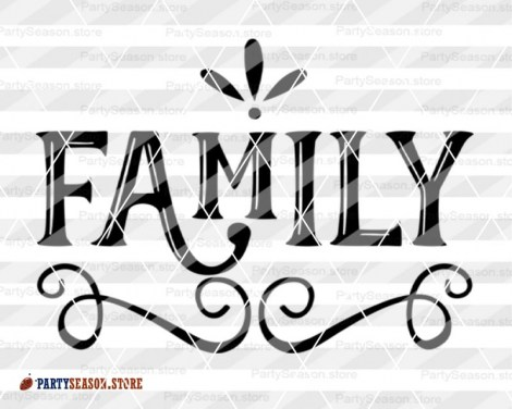 family SVG Party season 3