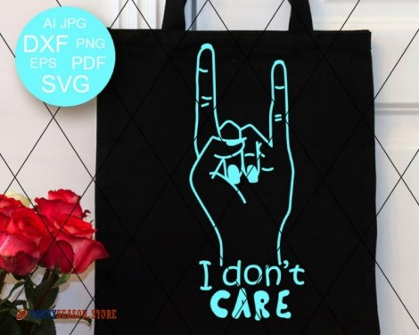 i dont care Svg Party Season 2
