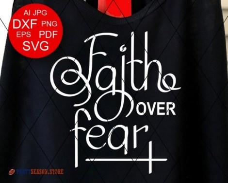 Faith over fear 22 Party season store