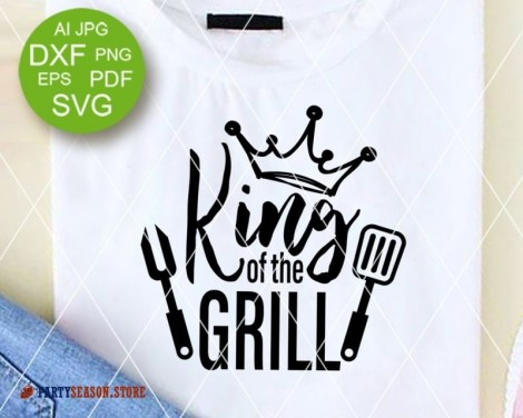 Party season store King of the grill 1
