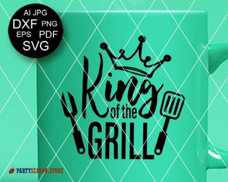 Party season store King of the grill 2