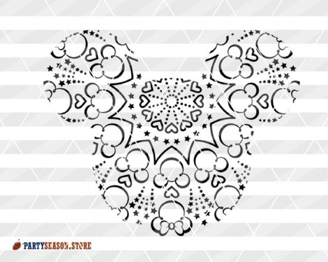 party season store mandala Disney 5