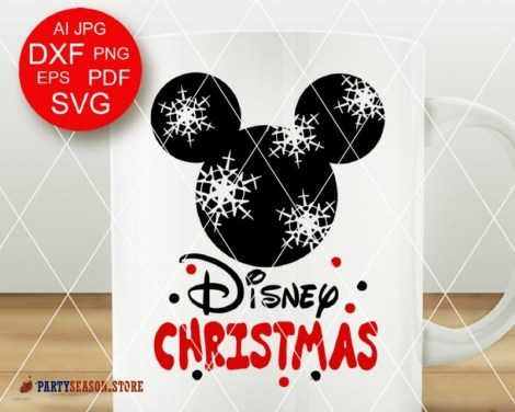 Disney Christmas svg Mickey Party Season 2