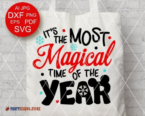 MAGICAL time of the year svg Party Season store 1
