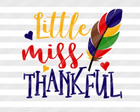 Little miss thankful Party season store 1