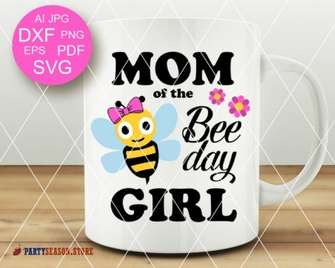 mom of the bee day girl Party season 1