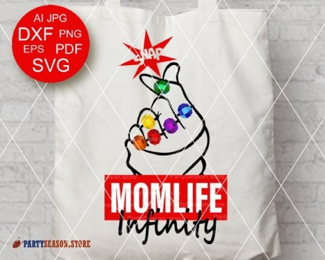 Party season store Momlife Infinity svg 1