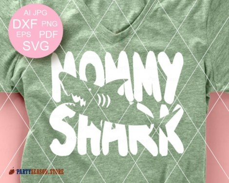 mommy shark party season store 1