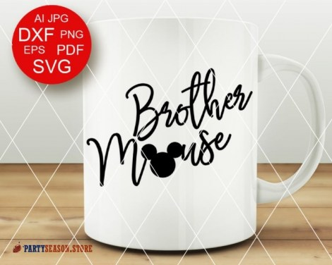 PartySeason Store brother svg 2