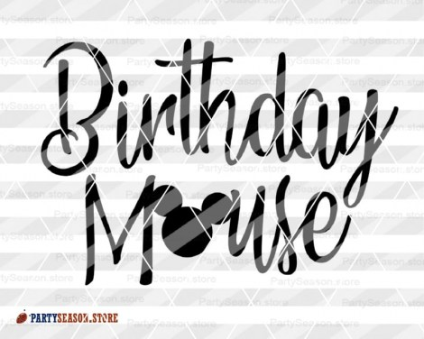 PartySeason Store Birthday mouse 5