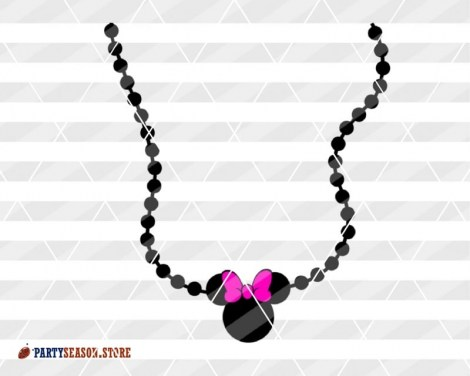 party season store necklace Minnie 2