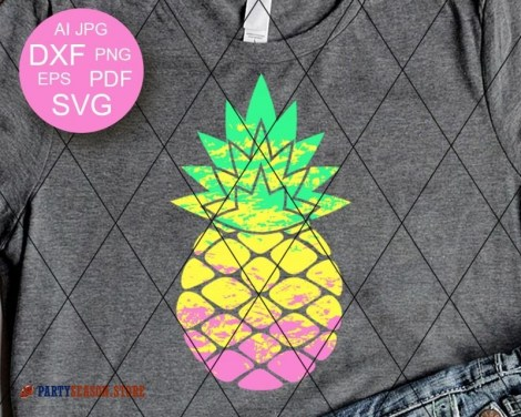 Pineapple Ombre party season store 1