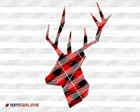 Deer Plaid svg Party Season 4