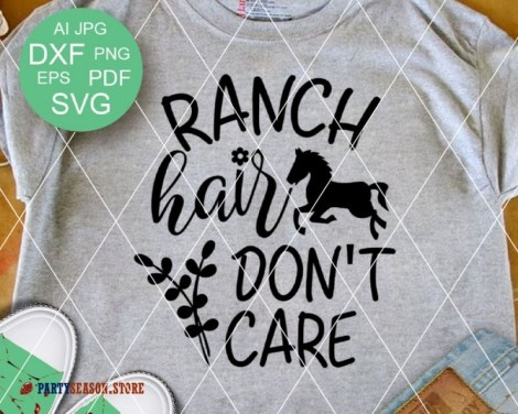 ranch hair dont care Party season 1