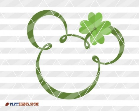 Party Season Store shamrock Mickey 1