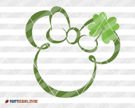 Party Season Store shamrock Minnie 1