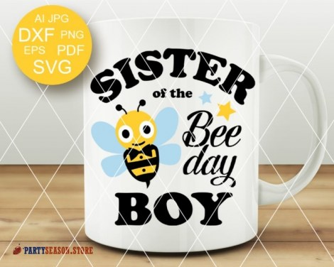sister of the bee day boy Party season 1
