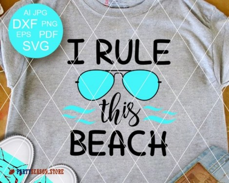 I Rule This Beach Party Season store 1