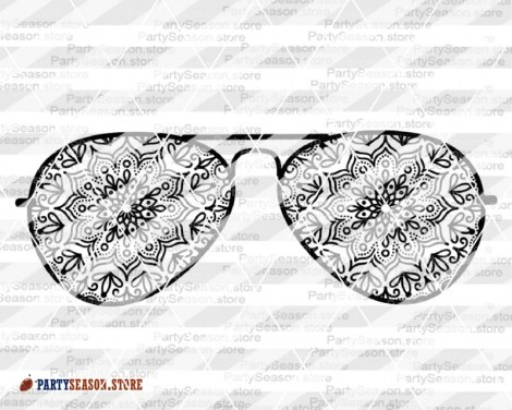 Zentangle sunglasses Party Season store 2