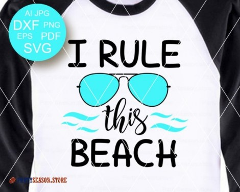I Rule This Beach Party Season store 2