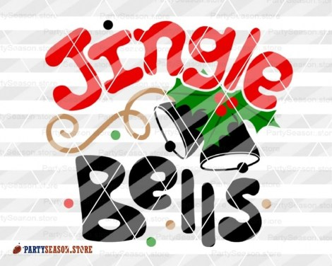 Jingle bells svg Party Season 3