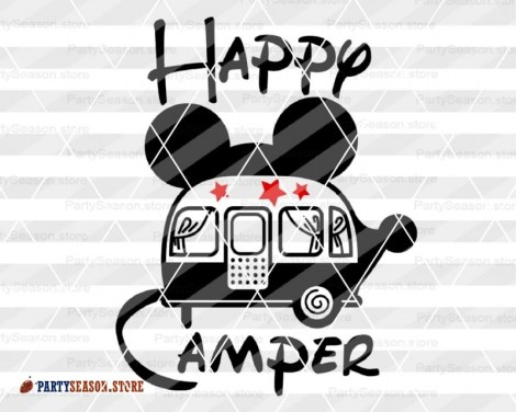 party season store happy camper Mickey Mouse 3