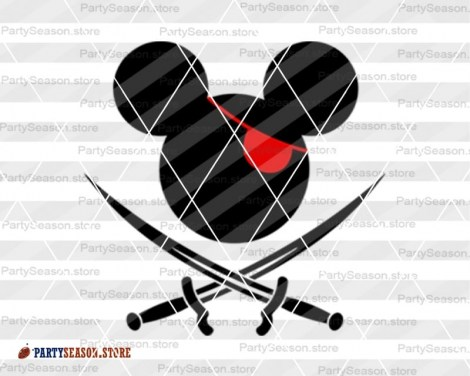 party season store Pirates Mickey svg 4