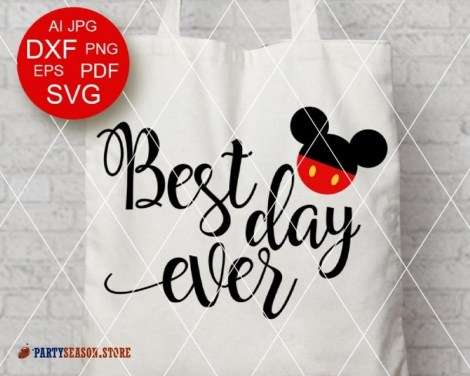 PartySeason Store best day ever Mickey 11
