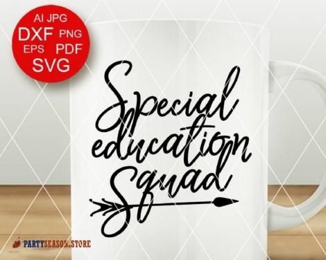 Special education squad 21 Party Season store