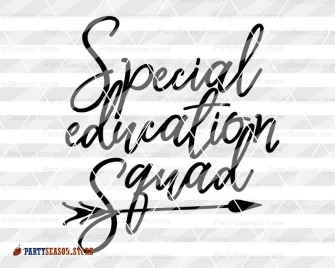 Special education squad 23 Party Season store