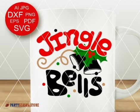 Jingle bells svg Party Season 2