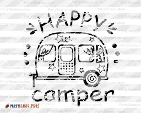 happy camper grunge Party season 4