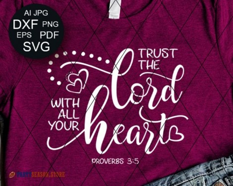 Trust The Lord With all Your Heart  Party season Store 4