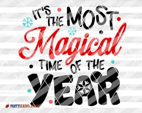 MAGICAL time of the year svg Party Season store 2