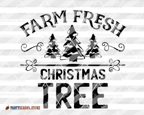 Farm Fresh Christmas Trees Svg.Farm Fresh Christmas Tree Svg Farm Svg Farmhouse Svg Xmas Tree Clipart Farm Fresh Svg Farmer Svg Files Sayings Farm Life Svg File For Cricut