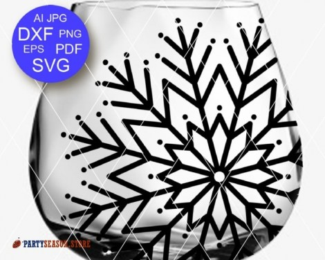 Snowflake svg Party Season 2