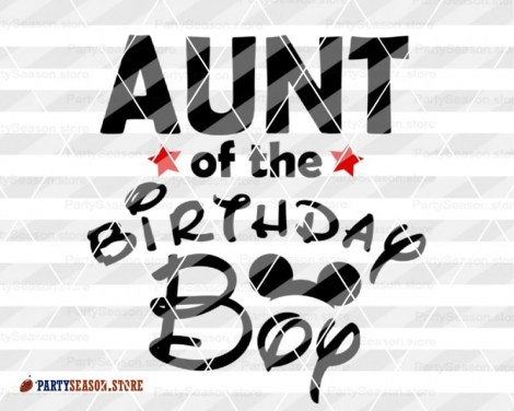 PartySeason Store Aunt of boy 1