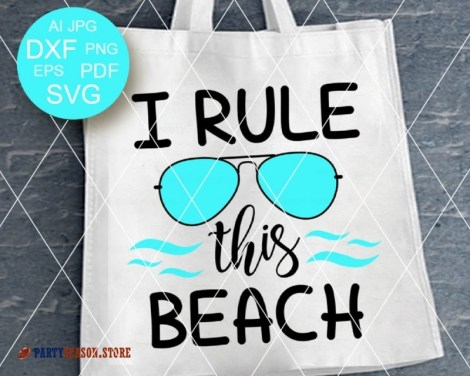 I Rule This Beach Party Season store 3
