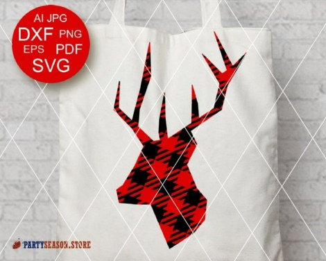 Deer Plaid svg Party Season 1