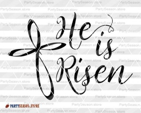 He is Risen svgs Party season store 3
