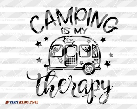 camping is my therapy Party season 4