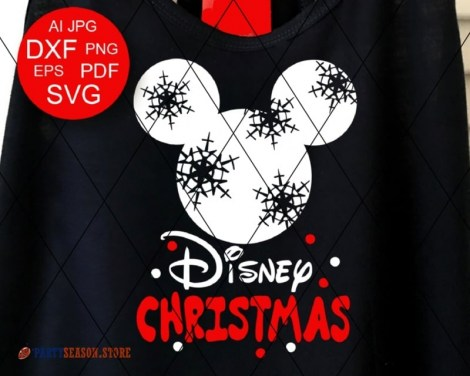 Disney Christmas svg Mickey Party Season 3
