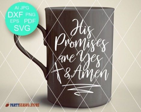 His Promises are Yes and Amen Party season store 1