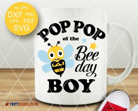 PopPop of the bee day boy Party season 1