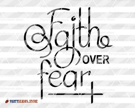 Faith over fear 23 Party season store